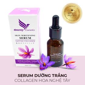 Serum dưỡng trắng Collagen Onemy Skin Whitening 15ml - Giảm thâm nám chống lão hóa chiết xuất nhuỵ hoa nghệ tây - Onemy-NgheTay