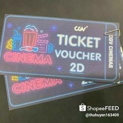 01 vé xem phim CGV áp dụng offline toàn hệ thống CGV