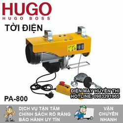 Máy Tời Treo Hugo 800 kg