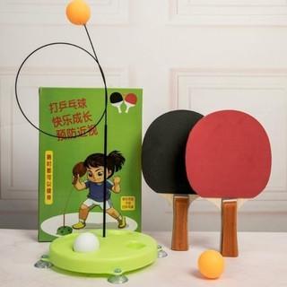MIỄN SHIP ĐƯỢC XEM HÀNG Bộ bóng bàn luyện tập phản xạ cán gỗ cho bé cao cấp - bobongban thumbnail