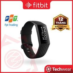 Vòng theo dõi sức khỏe Fitbit Charge 4 hàng chính hãng Bảo hành 12 tháng