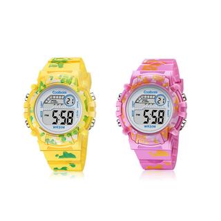 [MIỄN PHÍ GIAO HÀNG] Đồng hồ trẻ em đa chức năng kết hợp đèn Lex 7 màu chính hãng COOBOS - COOBOS1 3