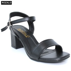 Giày sandal nữ cao gót 5P Rozalo R6000