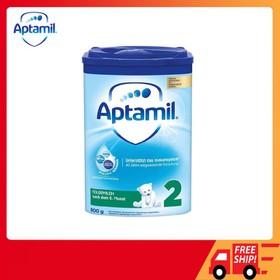 Sữa Aptamil Đức số 2 800gr [ Date 2021 ], sữa Aptamil xanh số 2 nội địa Đức, sữa bột Aptamil số 2 giá rẻ, Sữa Aptamil số 2 - FF-SA8002