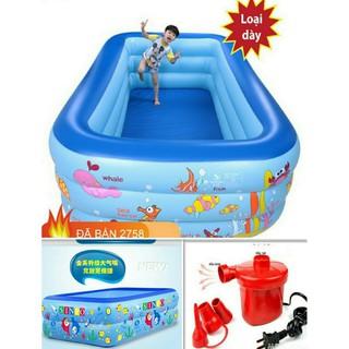 bể phao bơi bể phao bơi cho bé bể phao bơi loại 1 - bpb thumbnail