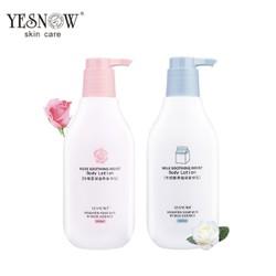 [FREESHIP] Sữa tắm dưỡng ẩm dưỡng trắng da chiết xuất sữa hoa hồng YESNOW
