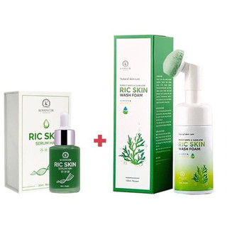[TA FREESHIP] Combo Serum & sữa rửa mặt RIC SKIN - 27052020 thumbnail