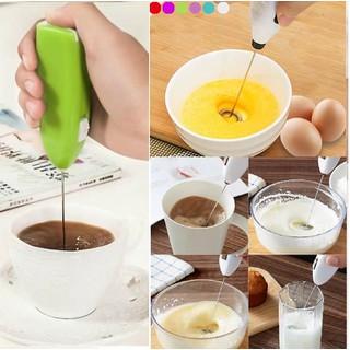 Combo 2 Máy Đánh Trứng Và Tạo Bọt Cà Phê Cầm Tay - máy thumbnail