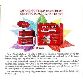 (Chính hãng công ty) Kem dưỡng trắng tái tạo da Holy Care 5 tác dụng (Đỏ) - HL01-2