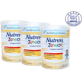 Combo 3 Sản phẩm dinh dưỡng y học Nutren Junior - Lon 800g - NJU023205B