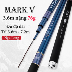 Cần câu tay carbon 6H mark V