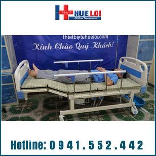 Giường điện Y tế đa năng 4 tay quay hạ chân góc to HL3 [ĐƯỢC KIỂM HÀNG] 29508652 - 29508652 thumbnail