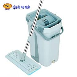 Bộ lau nhà Đệ Nhất Phu Nhân tự vắt 2 ngăn -Size nhỏ- TVL169