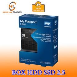 Box HDD 2.5inch USB 3.0 WD gắn mọi ổ cứng hỗ trợ lên đến 2TB