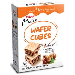 Bánh xốp Wafer Cubes hương Hạt Phỉ Vedan More 130g-HSD 12 tháng-Chính hãng-GIá tốt