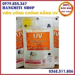 Viên uống chống nắng Nhật Bản UV Fine chính hãng gói 30 viên