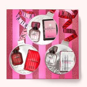 Bộ quà tặng Victoria's Secret Bombshell Gift Set - Eau de Parfum, 3 x 7,5ml - 667551177546
