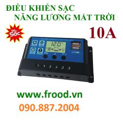 Điều khiển sạc năng lượng mặt trời 10A đến 50A