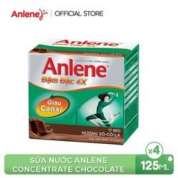 Sữa nước Anlene Concentrate Chocolate 4x125ml