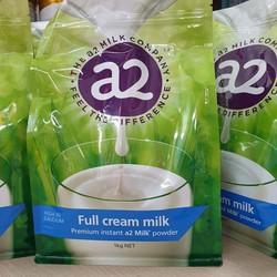 DATE 11-2021 Sữa Bột Nguyên Kem Úc A2 1kg - A2UC