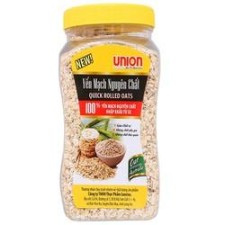 Yến mạch nguyên chất cán dẹt Union Quick Rolled Oats hộp 450g