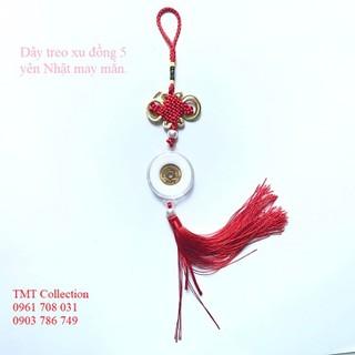 Dây treo đồng xu 5 Yên Nhật thu hút tài lộc, may mắn - TMT Collection - SP001142 - SP001142 thumbnail