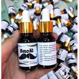 Snor thuốc kích thích mọc râu lông mày tóc - DHJ