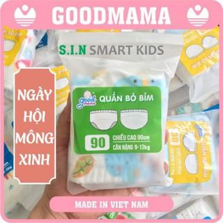 Quần bỏ bỉm 6 lớp Goodmama Việt Nam cho bé từ 5-17kg - Quần tập bỏ bỉm 6 lớp thumbnail