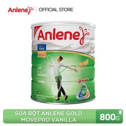 Sữa bột Anlene Gold Movepro Vanilla 800g