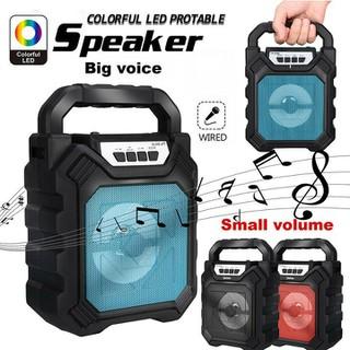 Loa Bluetooth xách tay Kèm Micro Hát KARAOKE - LOA KÈM MICRO - loakk thumbnail