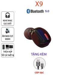 Tai nghe bluetooth 5.0 X9 , Kết nối 2 điện thoại cùng lúc