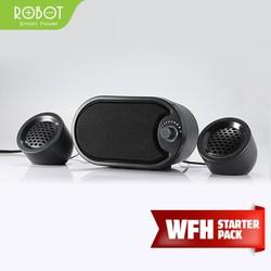 Loa Máy Tính/Laptop ROBOT RS170 Stereo Portable - BẢO HÀNH 1 ĐỔI 1 12 THÁNG