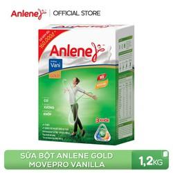 Sữa bột Anlene Gold Movepro Vanilla 1.2kg