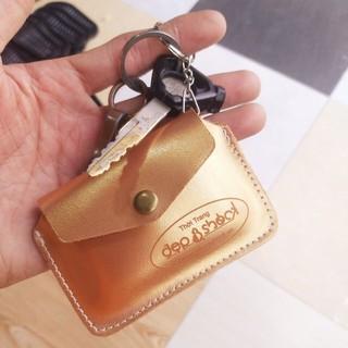 Ví móc khóa cầm tay -ví mini đựng thẻ ATM tiện dụng, màu ngẫu nhiên DEP&SHOCK - vibaothu thumbnail