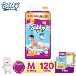 [Tặng Bảng nam châm + 12 Miếng tã] Phiên bản mùa hè Tã quần Bobby Fresh Siêu thoáng XXL93 - XL102 - L111 - M120
