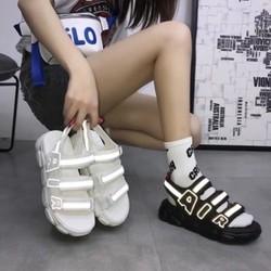 Giày Sandal Nữ Quai Ngang