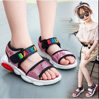 Dép sandal  bé gái phong cách học xinh dành cho bé từ 3 -13 tuổi - SD61H