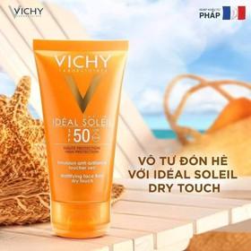 KEM CHỐNG NẮNG VICHY PHÁP SPF 50 CHO DA DẦU - 50ML - SK28
