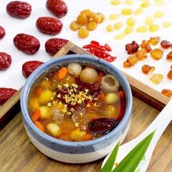 TÚI 400g nguyên liệu nấu chè dưỡng nhan - Nấu được 10 chai-01
