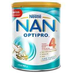 Sữa bột nan optipro 4 lon 900gr
