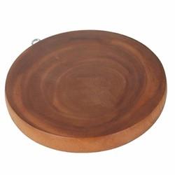 Thớt gỗ tròn me sừn cao cấp