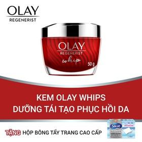 [Tặng Hộp Bông Tẩy Trang Cao Cấp] Kem Olay Whips Dưỡng Tái Tạo Phục Hồi Da (RG) - TUOL0037CB