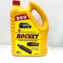 Nước làm mát cao cấp cho ô tô xe đầu kéo ROCKET 999 màu xanh/ màu đỏ 4L
