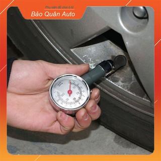 Đồng hồ cơ đo áp suất lốp ô tô xe máy (Loại 1 có hộp đựng) - A19 thumbnail