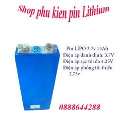 Pin Lipo 3.7V 14Ah dòng xả cao - Pin xe đạp điện