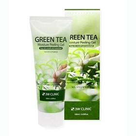 Tẩy Tế Bào Chết Green Tea Mousture Peeling Gel 3w Clinic 180ml - TB0014