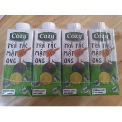 Trà Cozy - trà tắc mật ong - Thùng 24 hộp 225ml
