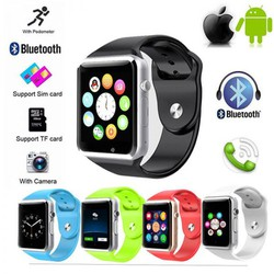 Đồng hồ thông minh A1 - gọi điện, nhắn tin, định vị bước chân