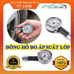 [Nhập SD9RE3 Giảm 15K] Đồng hồ đo áp suất lốp ô tô xe máy chạy cơ