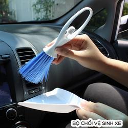 Bộ chổi vệ sinh, bộ chổi quét bụi khe gió, bộ chổi quét bụi trên xe ô tô